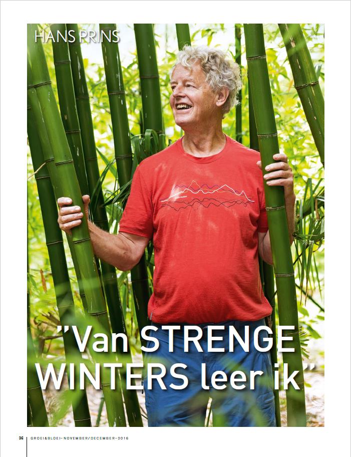reportage groei en bloei De Groene Prins strenge winters